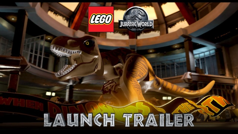 LEGO Jurassic World Launch Trailer Nintendo Switch