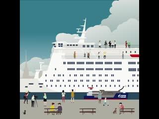 «газпромнефть марин бункер» заправит круизные лайнеры royal caribbean и saga