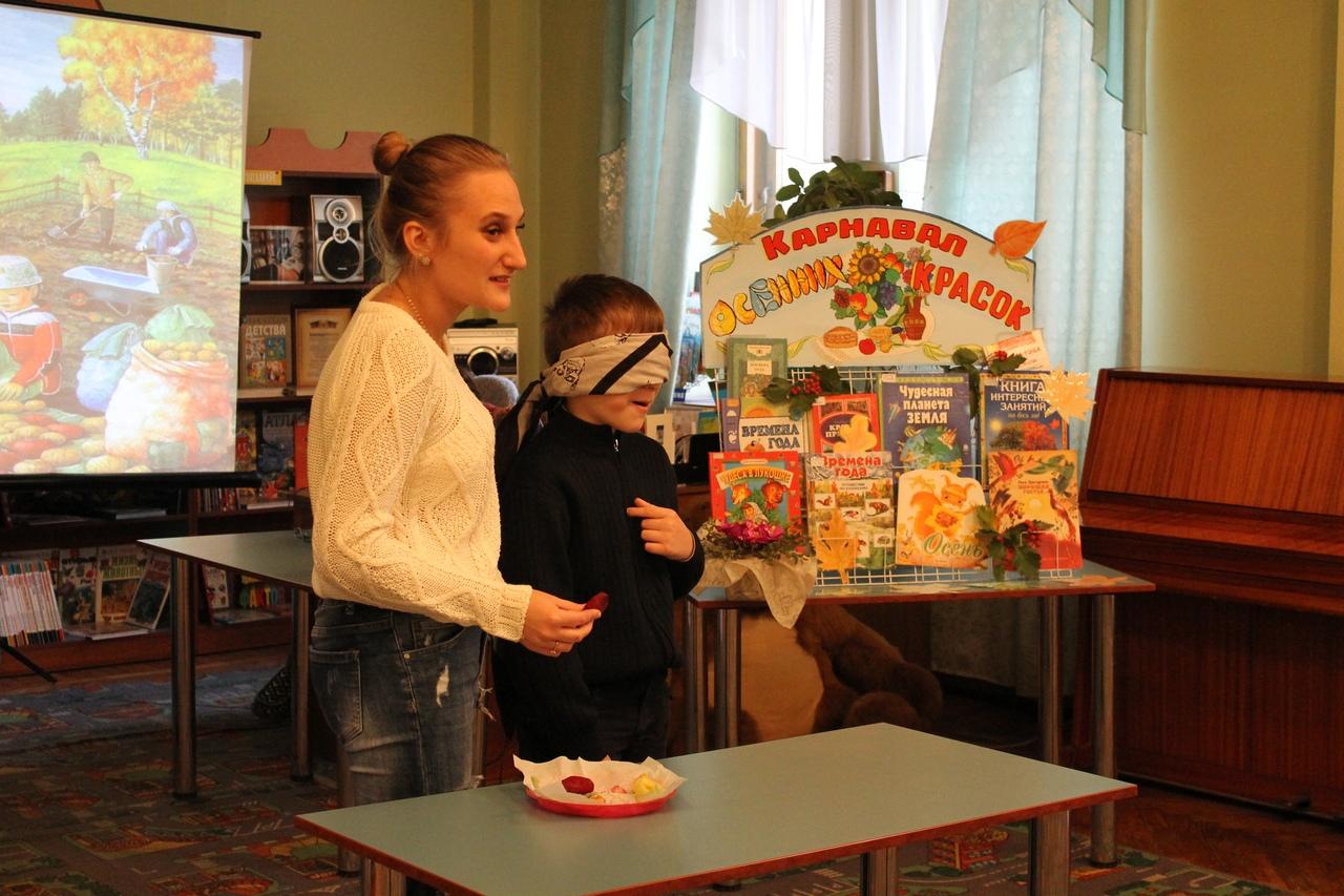 донецкая республиканская библиотека для детей, отдел обслуживания дошкольников и учащихся 1-4 классов,  в библиотеке интересно, осень