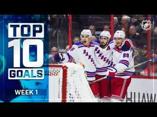 Top 10 goals from week 1 | 2019-20 nhl season | oct 9, 2019