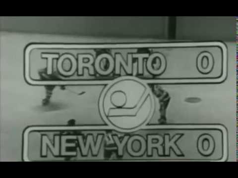 1971 Stanley Cup Playoffs Quarter Finals Game 2 Toronto at New York 4 8 71