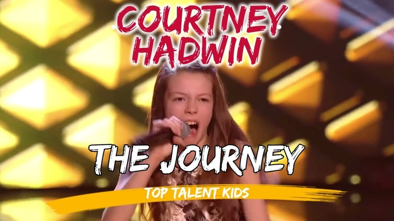 COURTNEY HADWIN The Journey TOP 5 and Preauditions AGT The Voice Kids UK