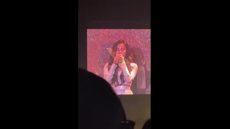 28.09.19 Wheein - goodbye HK f/w/ concert