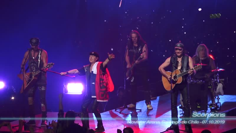 Scorpions - Send me and Angel / Movistar Arena, Santiago de Chile / 07.10.2019 )