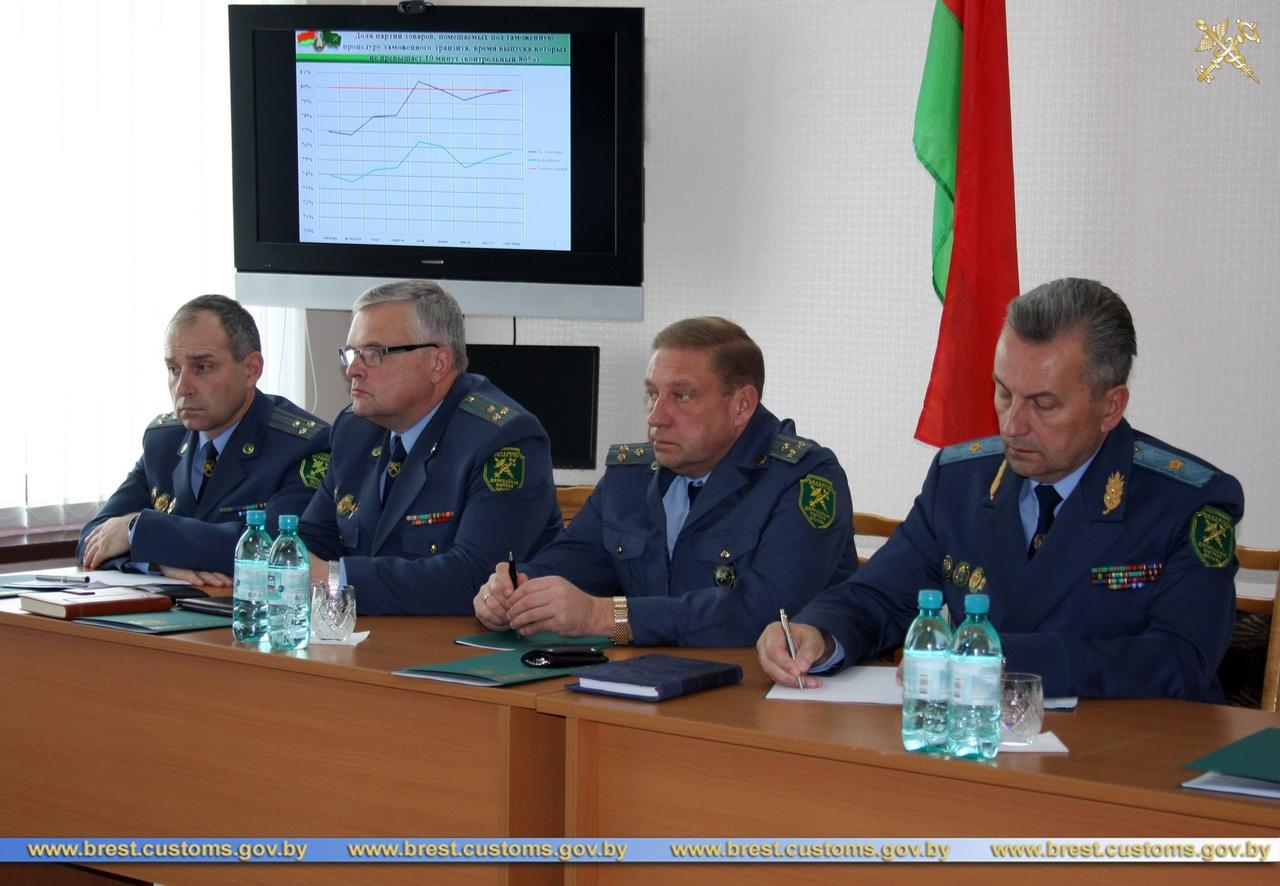 В Брестской таможне подведены итоги работы за 9 месяцев 2019 года
