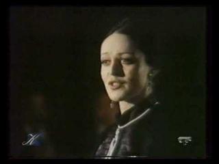 Галина Воронина исполняет романс «В час роковой».