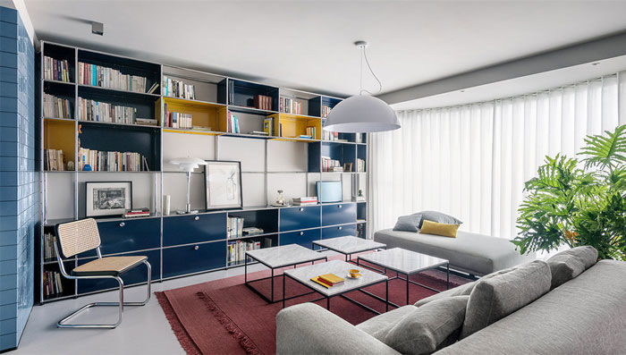 Beijing Three-story Penthouse Apartment by IS Architecture