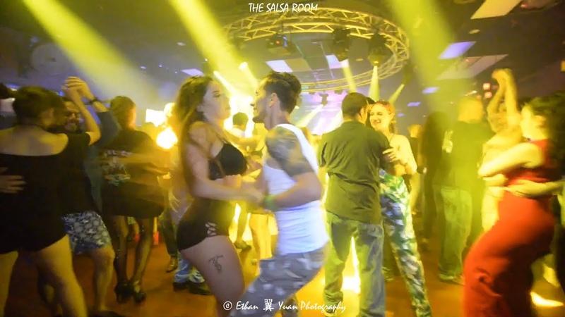 WANDAISHA LOPEZ ARNOLD Bachata Social Dance At THE SALSA ROOM