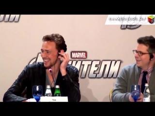 tom hiddleston x chris hemsworth