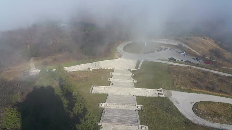 Вид на Шипкинский перевал