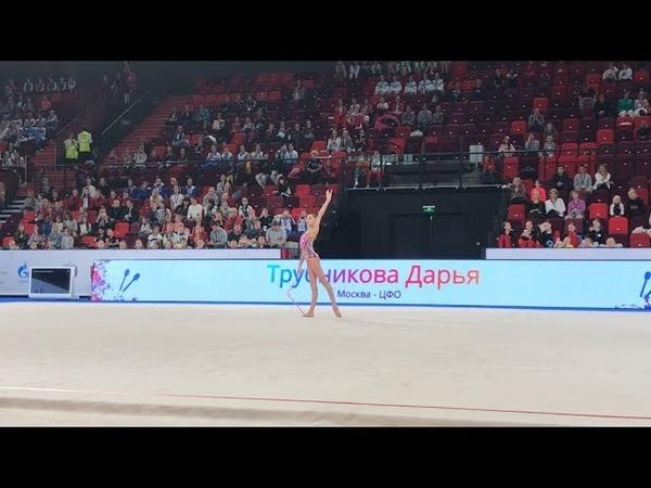 Дарья Трубникова - булавы (квалификация многоборья) | Чемпионат России 2019