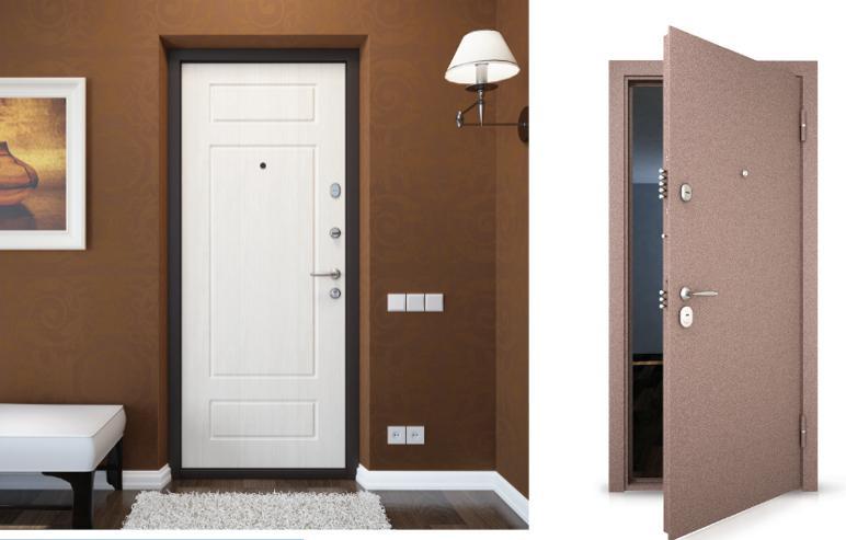Принципы установки входной двери