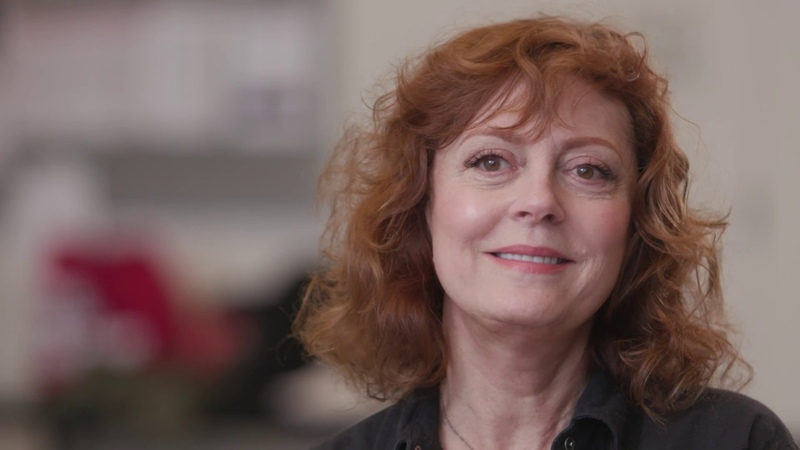A Chat with Happy Talk cast member Susan Sarandon part 1