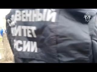 Следственные действия на месте хлопка газа в Орехово-Зуево