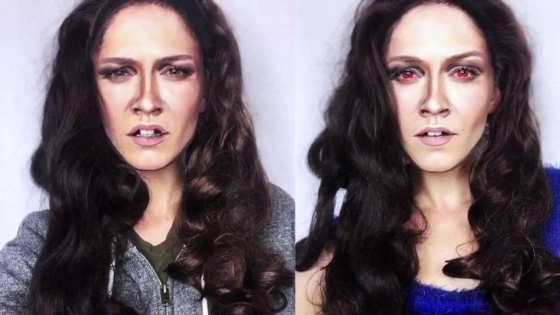 Kristen Stewart as TWILIGHT's Bella Swan Inspired Makeup Transformation