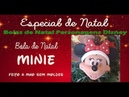 Enfeite de Natal de Biscuit Bola de Natal Minie