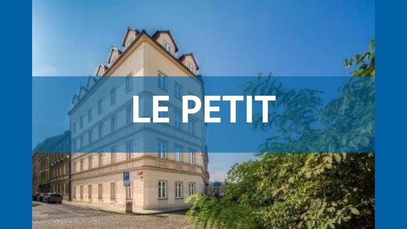 LE PETIT 3* Чехия Прага обзор отель ЛЕ ПЕТИТ 3* Прага видео обзор