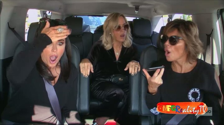 """Joey on Instagram """"Lisa Rinna, Teddi Kyle learn about Denise possibly losing her home due to the wildfire. RHOBH """""""