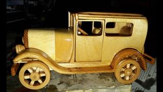 Ford Model A 1928 из дерева