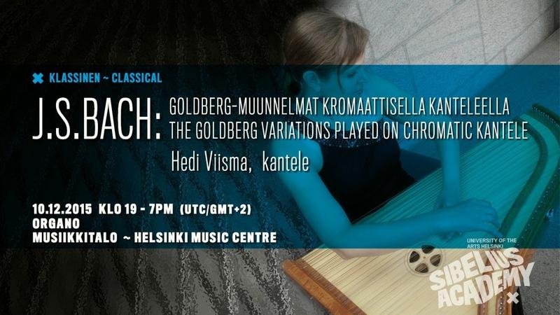 Hedi Viisma Goldberg Variations by University of the ARTS HELSINKI SIBELIUS ACADEMY