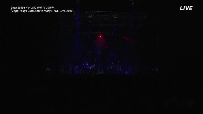 HYDE - SET IN STONE LIVE ZEPP TOKYO 2019