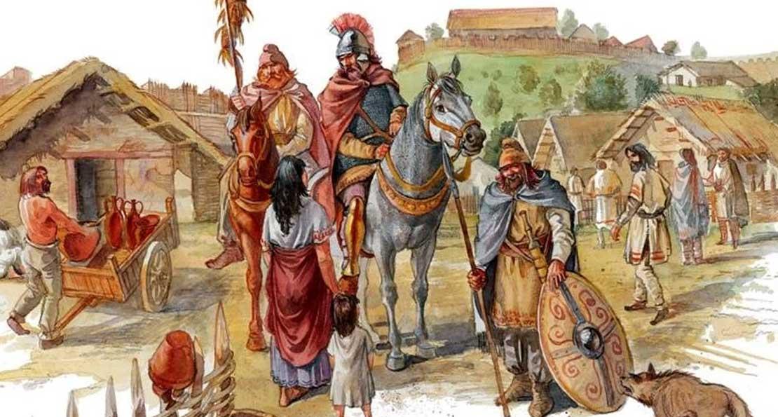 Деревня фракийцев