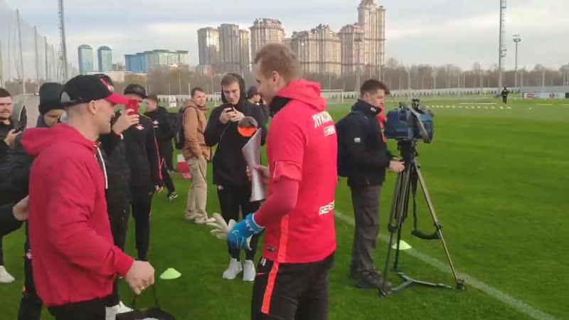 Максименко во второй раз подряд получил приз лучшему игроку месяца по версии болельщиков