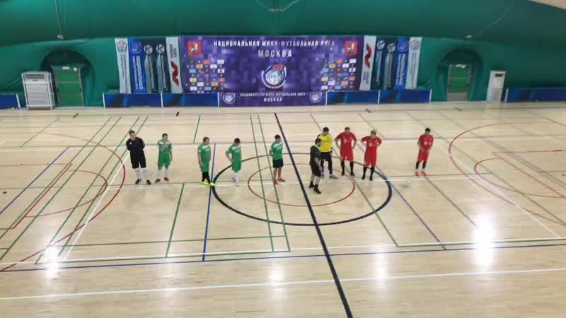 Москва-2 - Бавария TRP | Зимний 🏆 НМФЛ | Группа А