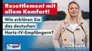 Resettlement mit allem Komfort – Wie erklären Sie das deutschen Hartz IV Empfängern? Dana Guth AfD