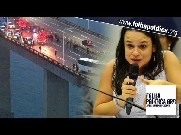 'Dar um tiro de susto em uma pessoa armada é pedir para morrer', diz Janaína...