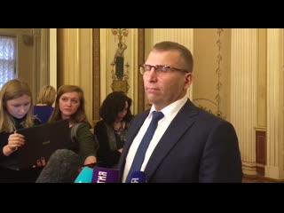 Валерий Пикалев рассказал о своих планах на должности вице-губернатора Петербурга
