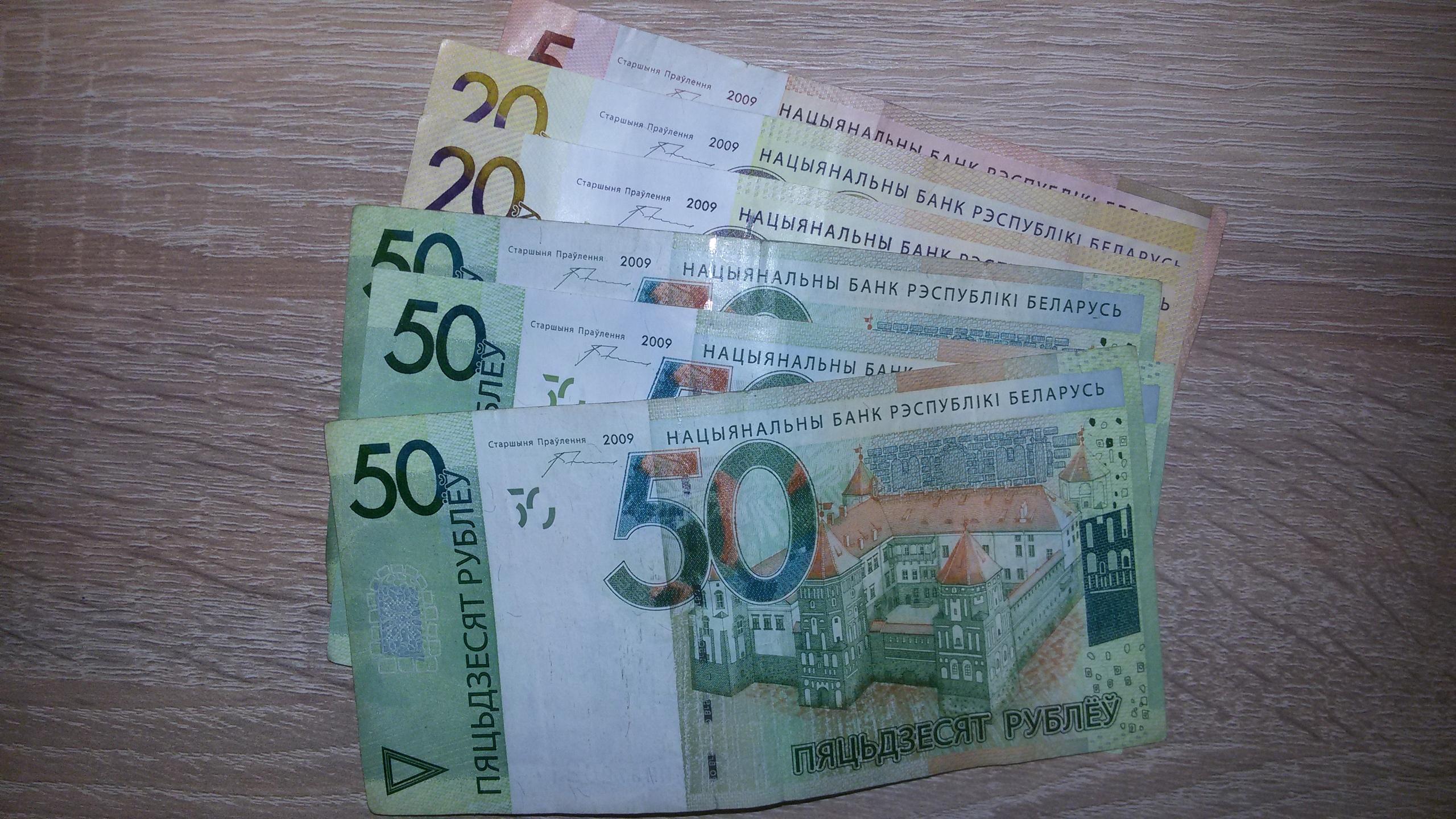 Средняя зарплата в Беларуси в феврале 2020 года