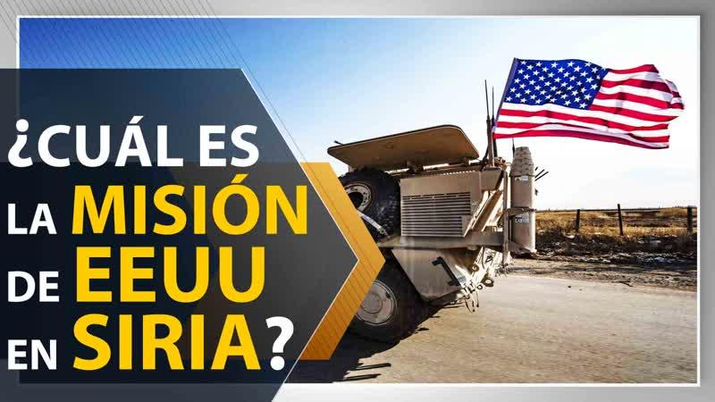 ¿Cuál es la misión de en Siria