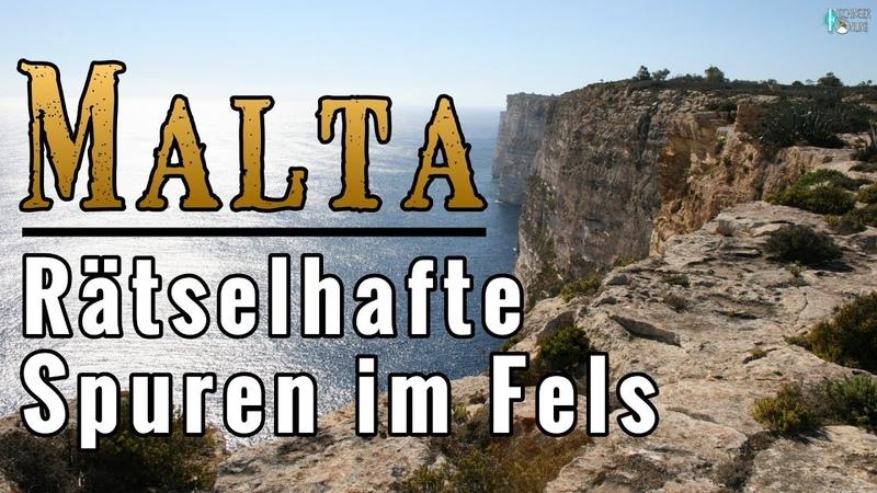 Malta Rätselhafte Spur im Felsgestein entdeckt Von Menschenhand oder Laune der Natur