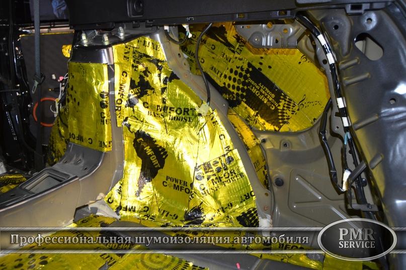 Шумоизоляция Toyota Venza, изображение №13