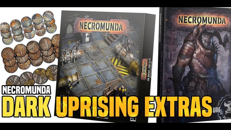 BoLS Unboxing Necromunda Dark Uprising Accessories Game Workshop