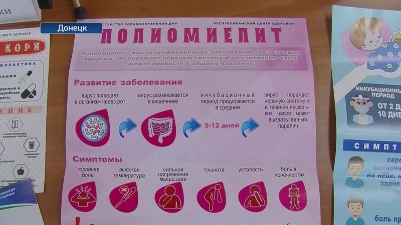 Вакцинироваться нельзя игнорировать В ДНР стартовала неделя иммунизации