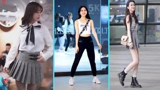 Mejores Street Fashion Tik Tok    Douyin China   Chinese Girls Are Beautiful   Viable Fashion