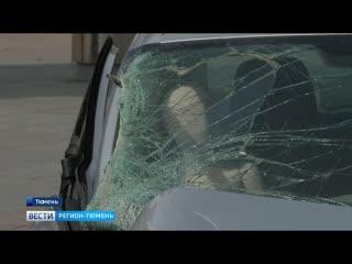 Разбитый автомобиль стал арт-объектом на Цветном бульваре