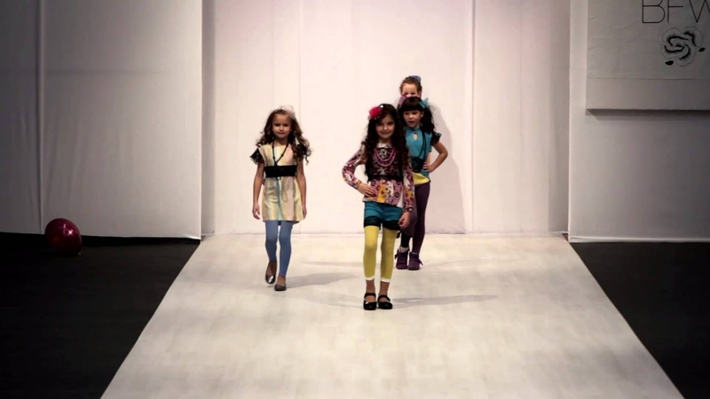 Kids` Fashion Day BFW 2013-2014. Коллекция Мамина радость. ДШМ kids` PODIUM.