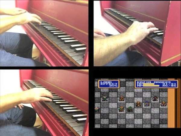 Shining Force 2: To Arms! (arranged for three harpsichords)