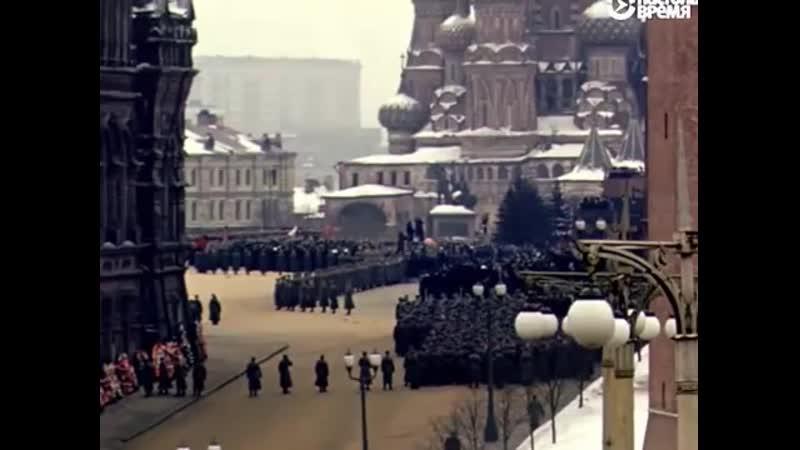 Похороны Сталина - уникальные кадры из архива Мартина Манхофа (Martin Manhoff)