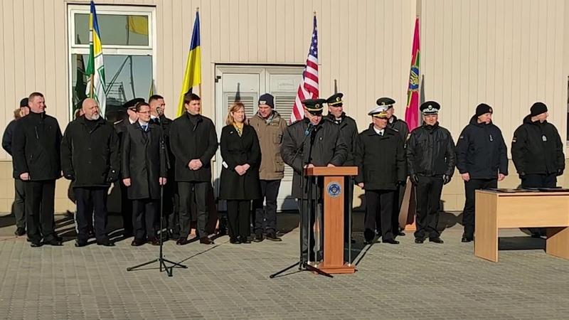 США передали українським прикордонникам спецспорядження для захисту морських рубежів