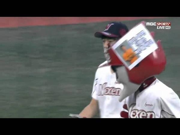 TV Myungsoo's first pitch