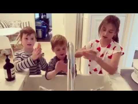 Wash your hands and turn off the sink Ivanka Trump COVID-19 Coronavirus corona