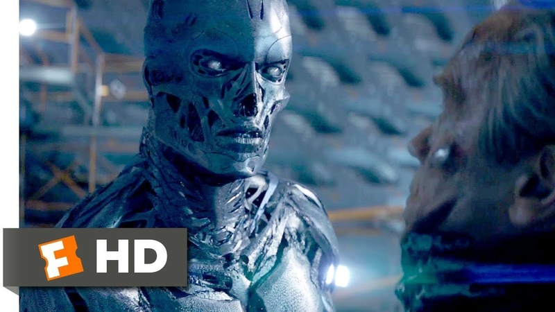 Terminator Genisys (2015) - John Connor vs. The Terminator Scene (9/10) | Movieclips