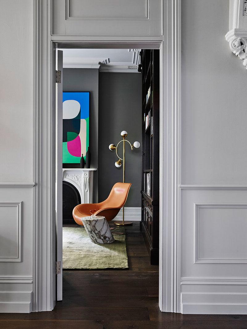 Современный интерьер как искусство: яркий дизайн в Сиднее || 01