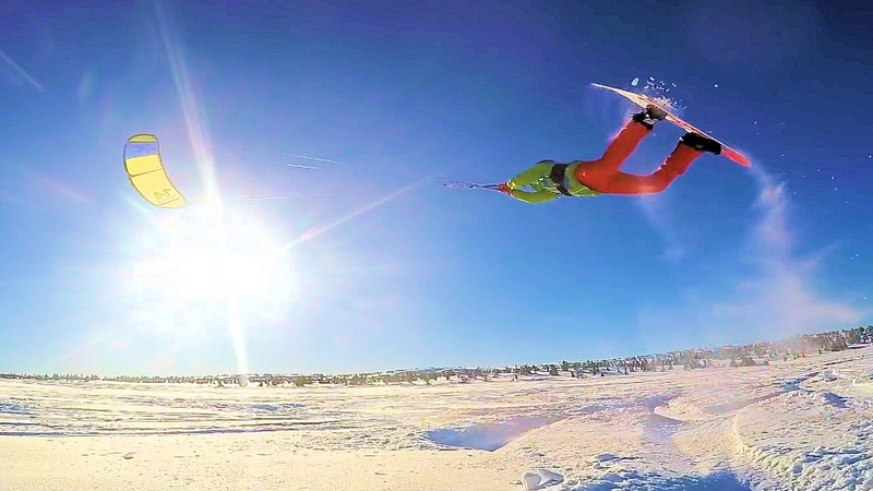 This is Snowkiting 1