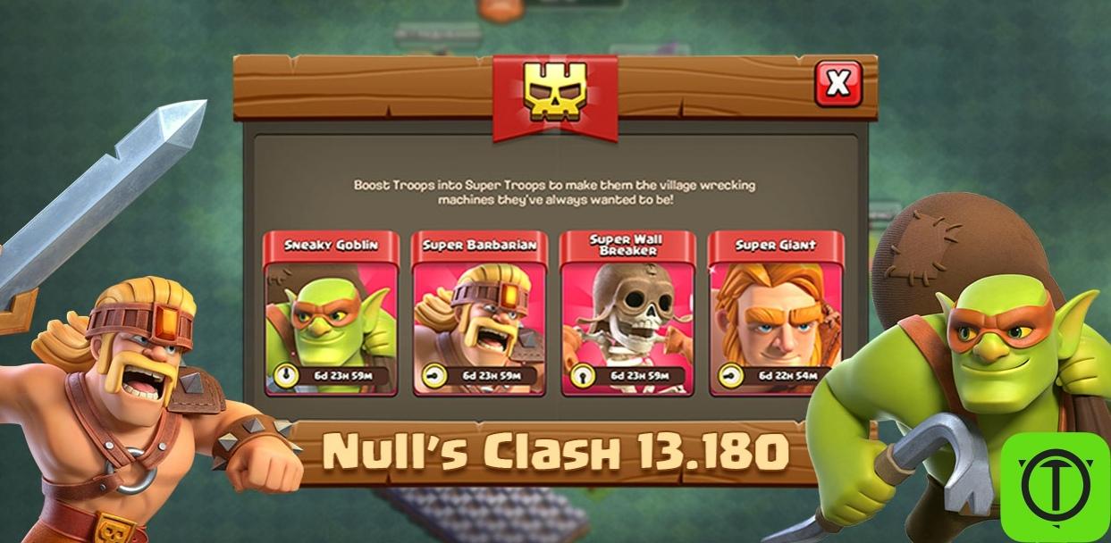 Обновление Null's Clash до версии 13.180 - добавлены