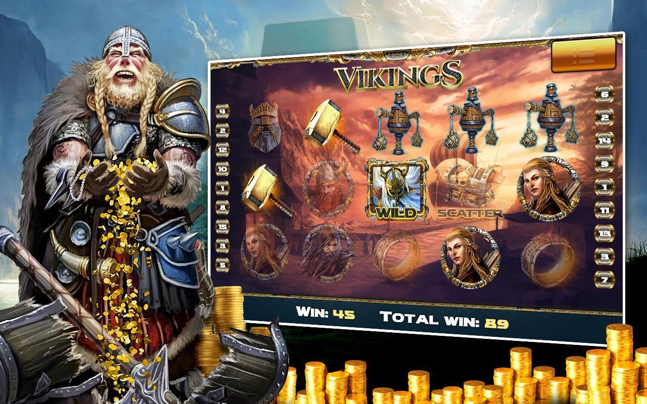 Vikings — слот в казино Колумбус